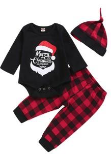 Baby Boy Weihnachten 3pc Hosen Set