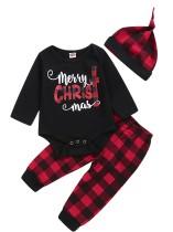 Set 3 pantaloni natalizi per neonato