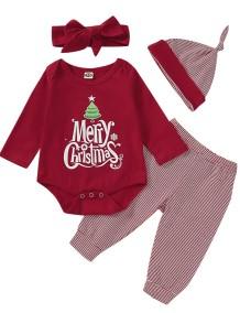 Baby Boy Christmas 3pc Pants Set