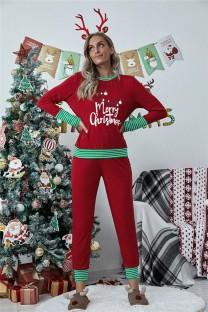 Kadın Yılbaşı Üst ve Pantolon Pijama Takımı