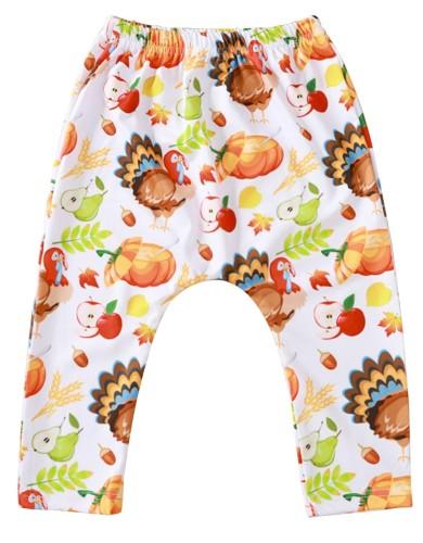 Baby Girl Halloween Print Leggings