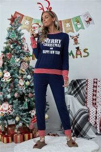Frauen Weihnachten Top und Hosen Pyjama Set