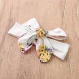 Baby Girl Autumn Floral Hoodie Trainingsanzug mit Stirnband
