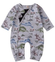 Baby Boy Herbst Langarm Cartoon Strampler