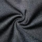ハロウィンスパイダープリント黒シャツドレス