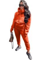 Autumn Blank Loose Hoodie Trainingsanzug