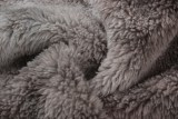 Manteau d'hiver en polaire tie-dye de grande taille avec poches