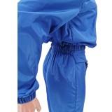 Conjunto de pantalón y top corto de entrenamiento liso liso de otoño