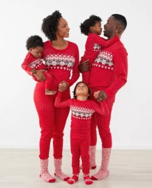 Christmas Family Baby Rompers Pajama