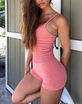Summer Sports Fitness Straps Yoga Rompers