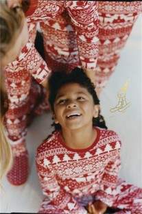 Christmas Family Kids Shirt and Pants Pajama Set