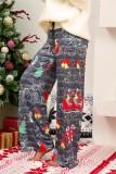 Pyjama-Hose mit Weihnachtsmotiv