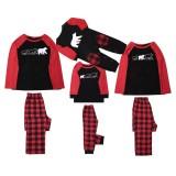 Conjunto de pijamas de Natal para a família - mamãe