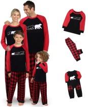 Kerstfamilie pyjama set - Kinderen
