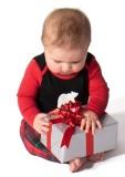 Pijama de Natal - Macacão de Bebê