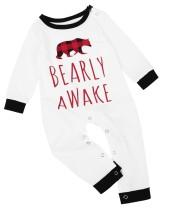 Kerstfamilie-pyjama's - Rompertjes voor baby's