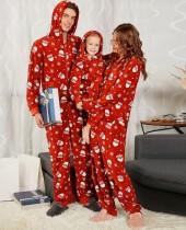 Pijama de Natal da família Onesie para o papai