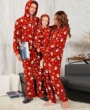 Weihnachtsfamilie Onesie Pyjama für Kind