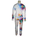 Herbst Casual Paints Shirt und Hosen Set