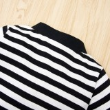 Baby Boy Stripes Gentleman Button Up Pagliaccetti