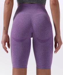 Summer Fitness High Waist Plain Yoga Shorts