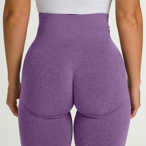 Spor Fitness Yüksek Bel Popo Kaldırma Yoga Tayt