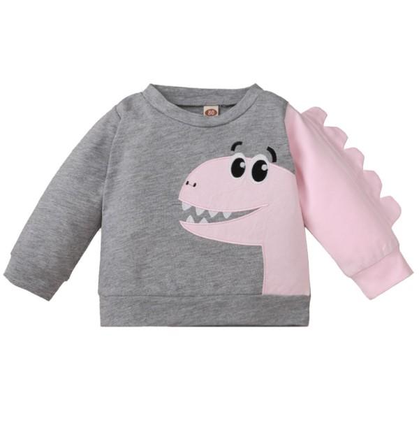 Chemise imprimée automne bébé fille