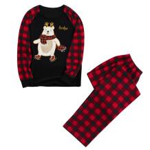 Noel Baskı Aile Pijama Anne için Set