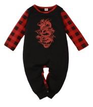 Baby Boy Autumn Plaid Print Button Up Pagliaccetti
