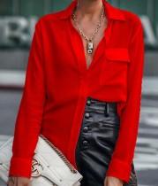 Herbst Elegante Bürotasche transparente Bluse