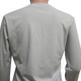 Herbst Casual Matching Plain Hemd und Hosen Set