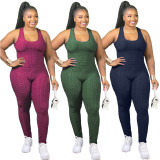 Sommersport Fitness Scrunch Halfter Yoga Jumpsuit