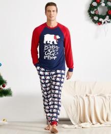 Conjunto de pijama de Natal para família (papai)