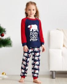 Conjunto de pijama de Natal para família (crianças)