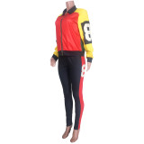 Winter Matching Sport Trikot und Hosen Set