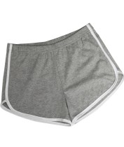 Summer Sports Jogging Cotton Shorts with Contrast Trims