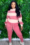 Herbst Wide Stripes Loose Sweat Suit