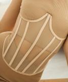 Espartilho sexy de controle de barriga