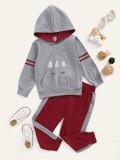 Girl Contrast Pocket Hoody en lange broek