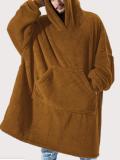 Haut à capuche en molleton unisexe
