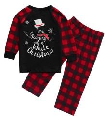 Conjunto de pijama familiar navideño - Niño