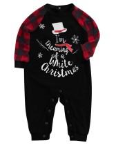 Conjunto de pijama de Natal para a família - bebê