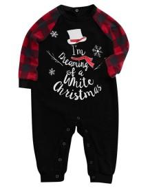 Conjunto de pijama familiar navideño - Bebé