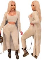 Зимняя вечеринка сексуальный костюм из трех плюшевых брюк