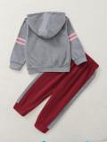 Sweat à capuche et pantalon long pour fille