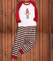 Weihnachtsfamilie Pyjama Set - Kinder Set