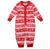Weihnachtsfamilie Pyjama Set - Baby Strampler