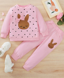 Baby Girl Autumn Cartoon Shirt and Pants Set