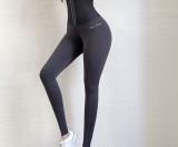 Sports Fitness Leggings de yoga con corsé de cintura alta