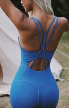 Yaz Sporları Spor Katı Yoga Tulum